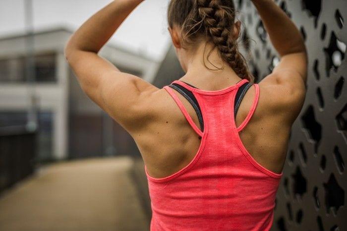 Polera para maratón mujer