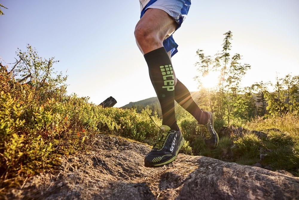 Calcetas de compresión para maratón